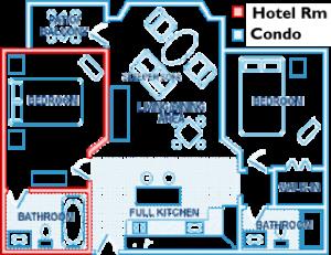프라이드 - 여행 - 콘도는-tiemshare - 대 - 비교 - 투 - 호텔 객실-1