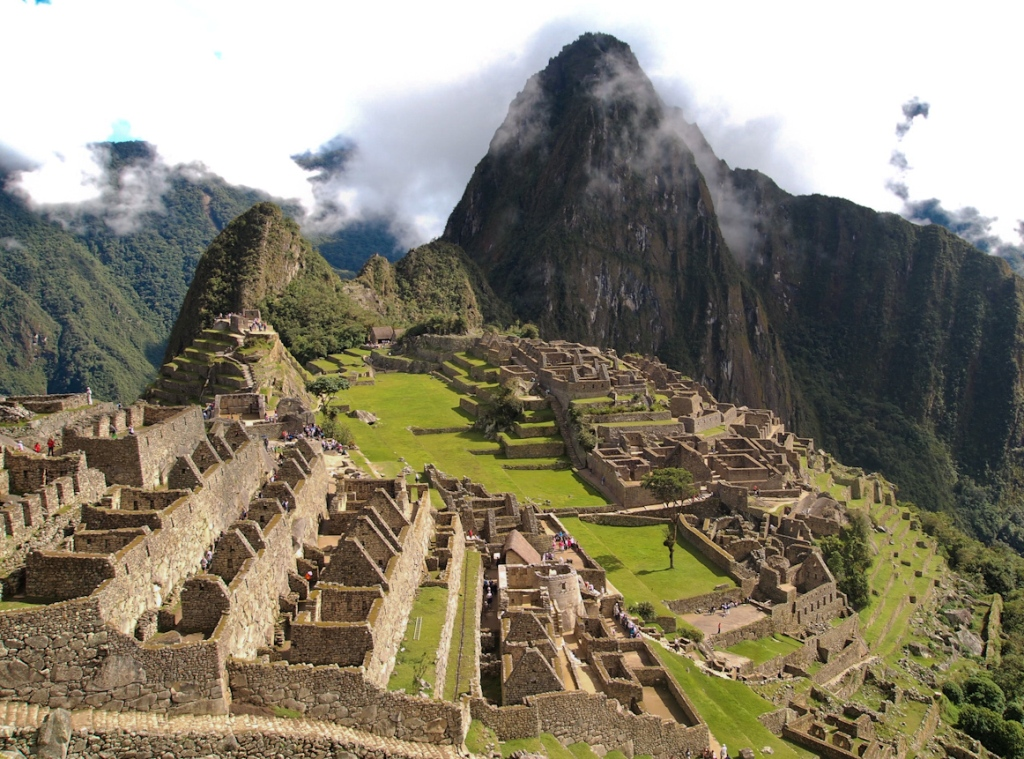 how to draw machu picchu